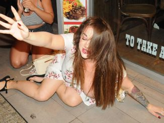 Bex Shiner Drunk on Holiday
